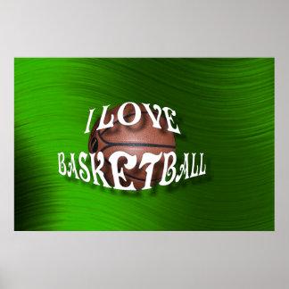 , I LOVE BASKETBALL-POSTER POSTER