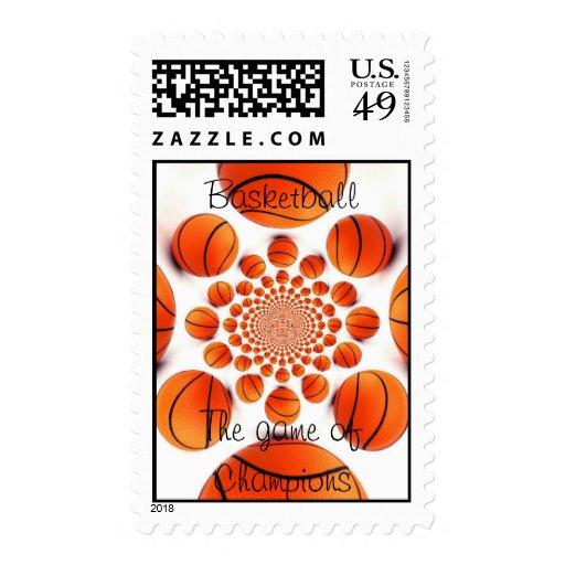 I love Basketball Stamps