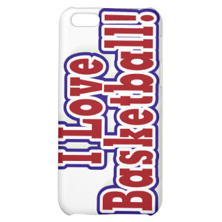 I Love Basketball T shirts and Gifts iPhone 5C Covers