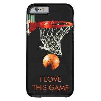 I  Love Basketball Tough iPhone 6 Case