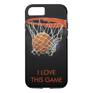 I  Love Basketball Tough iPhone 7 Case