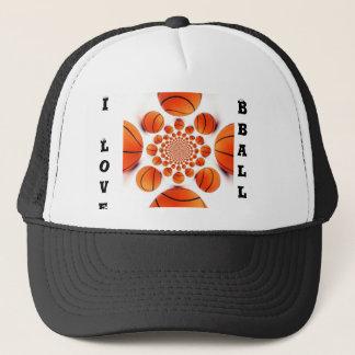 I love basketball trucker hat