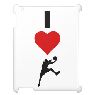 I Love Basketball (Vertical) Cover For The iPad