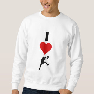 I Love Basketball (Vertical) Sweatshirt