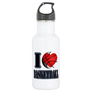 I love Basketball - Water Bottle