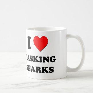 I Love Basking Sharks Coffee Mug