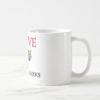 I Love Basking Sharks Mug