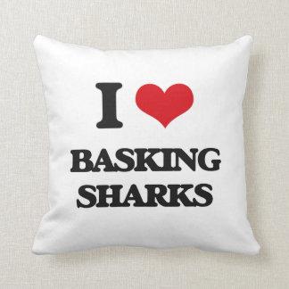 I love Basking Sharks Pillow
