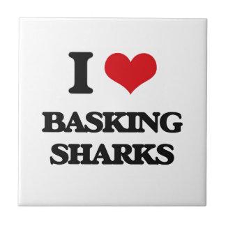 I love Basking Sharks Ceramic Tiles