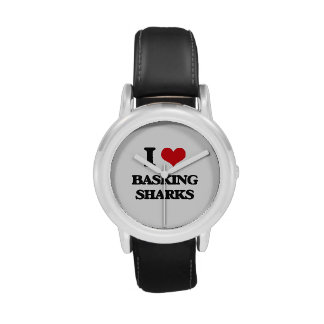 I love Basking Sharks Wrist Watch