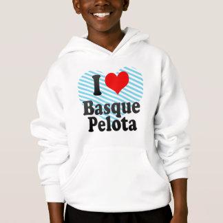 I love Basque Pelota Hoodie