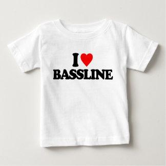 I LOVE BASSLINE BABY T-Shirt