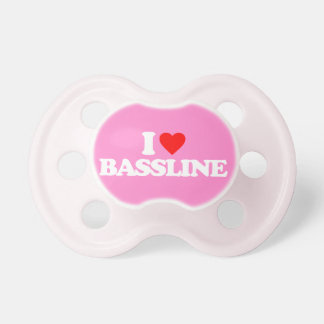 I LOVE BASSLINE PACIFIER