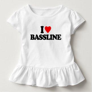 I LOVE BASSLINE TODDLER T-SHIRT