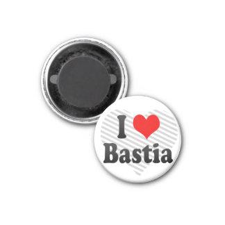 I Love Bastia, France Refrigerator Magnet