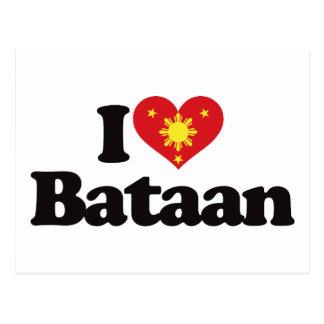 I Love Bataan Post Cards