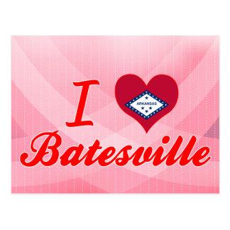 I Love Batesville Arkansas Postcard