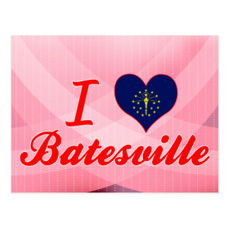 I Love Batesville Indiana Postcards