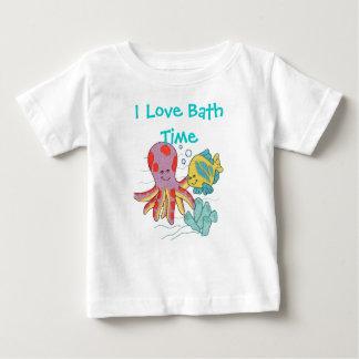 I Love Bath Time Tees
