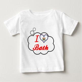I Love Bath, West Virginia Tee Shirt