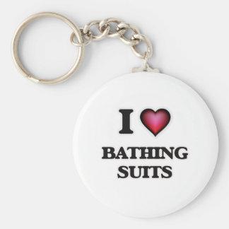 I Love Bathing Suits Keychain