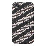 I love Batik Case For iPhone 4