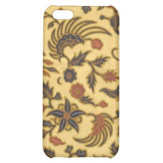 I love Batik Cover For iPhone 5C