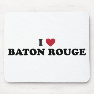I Love Baton Rouge Louisiana Mouse Pad
