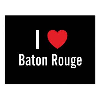 I love Baton Rouge Post Card