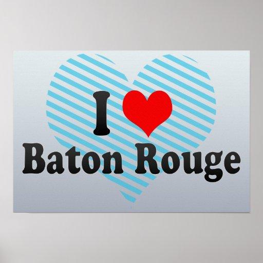 I Love Baton Rouge, United States Poster