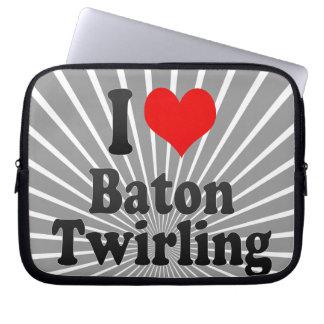 I love Baton Twirling Laptop Sleeves