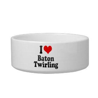 I love Baton Twirling Pet Food Bowl