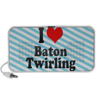 I love Baton Twirling iPod Speakers
