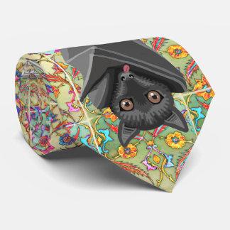 I love Bats! Bat Lover! Flying Fox Bats! Neck Tie