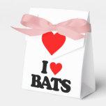 I LOVE BATS FAVOR BOX