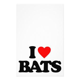 I LOVE BATS FLYER