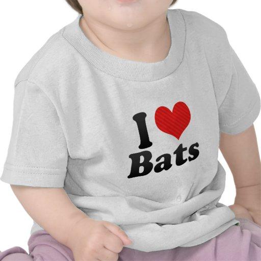 I Love Bats Tshirt