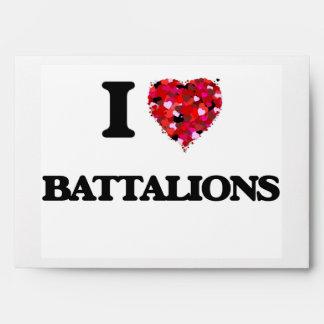 I Love Battalions Envelope