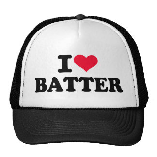 I love batter mesh hats