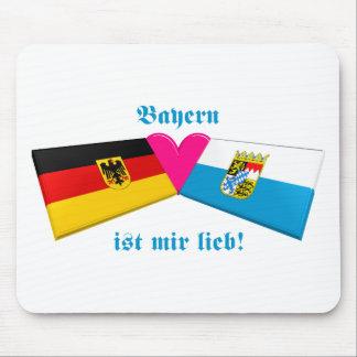 I Love Bavaria / Bayern ist mir lieb Mouse Pad