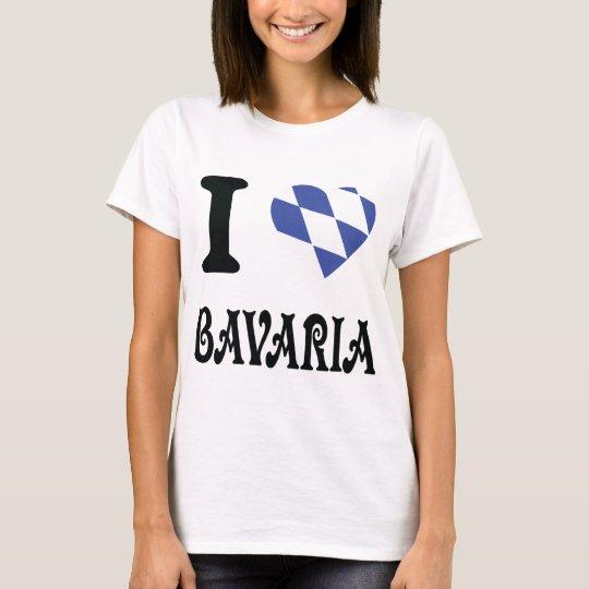 I love bavaria icon T-Shirt