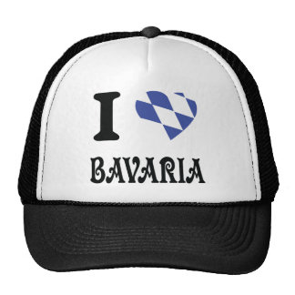 I love bavaria icon trucker hat