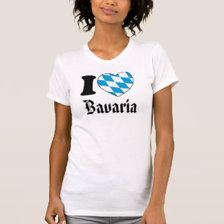 I Love Bavaria - Oktoberfest-Shirt for Girls T-Shirt