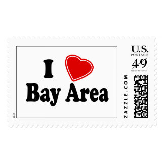 I Love Bay Area Stamp