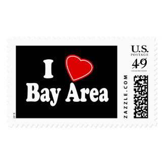 I Love Bay Area Stamps