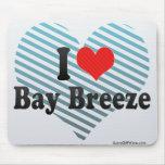 I Love Bay Breeze Mouse Pad