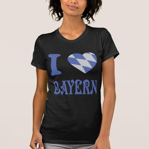 I love bayern icon t shirts