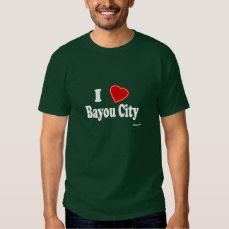 I Love Bayou City Shirt