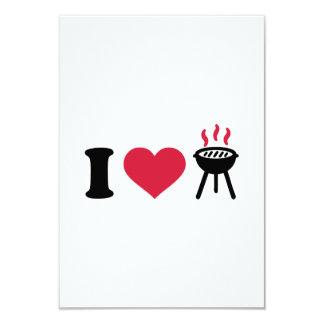 I love BBQ barbecue Card
