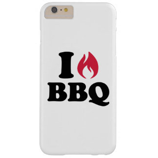 I love BBQ Barely There iPhone 6 Plus Case